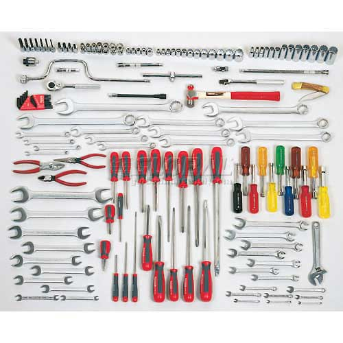 Proto J99661A 148Piece Starter Maintenance Tool Set With Top Chest J442719-12RD-D by