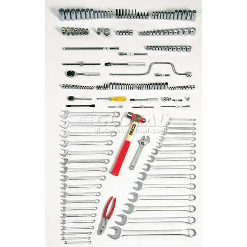 Proto J99901A 179Piece Intermediate Maintenance Tool Set With Roller Cabinet J442735-7RD by