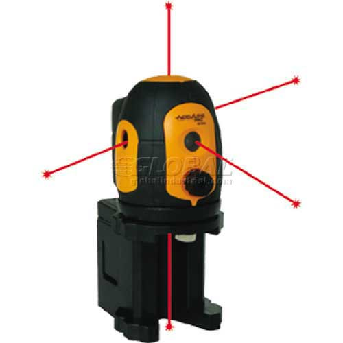 Self-Leveling 5 Beam Dot Laser Level by