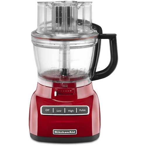 KitchenAid 13 Cup Food Processor W/ ExactSlice System Gloss Cinnamon KFP1333GC by
