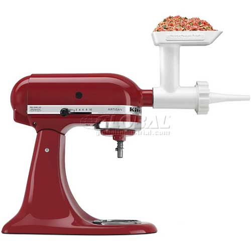 Click here to buy KitchenAid Sausage Stuffer Kit Use with Food / Meat Grinder Attachment SSA.