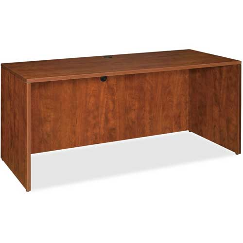 """Lorell Credenza Shell 72""""W x 24""""D x 29-1/2""""H Cherry Essentials Series by"""