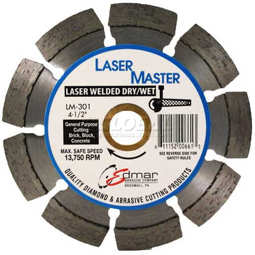 "Edmar 4"" Premium Segmented Saw Blade by"