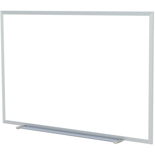 """Buy Ghent 60"""" x 36""""H Whiteboard with Aluminum Frame Non-Magnetic Includes Marker/Eraser USA Made"""
