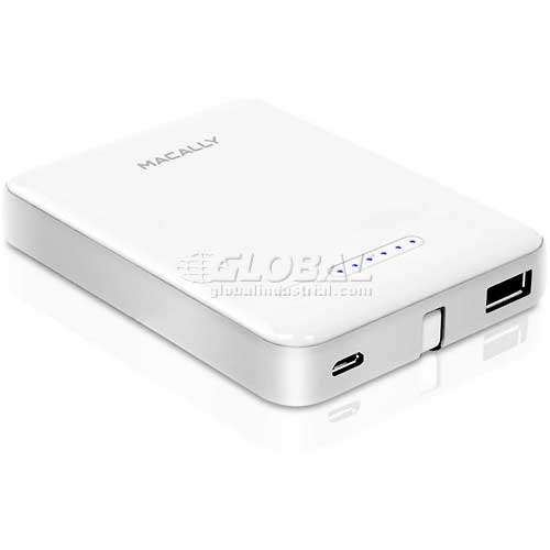 Buy Macally 3000mAh Portable Battery Charger with Built-in Lightning and Micro USB Cable