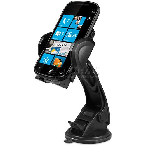 Macally Suction Cup Mount for Most Smartphones and GPS by
