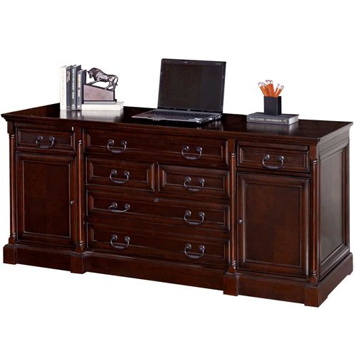 Martin Furniture Computer Credenza Mount View Office Series by