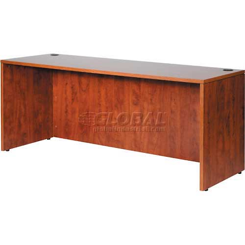"Boss Credenza Shell 71"" x 24"" Cherry by"