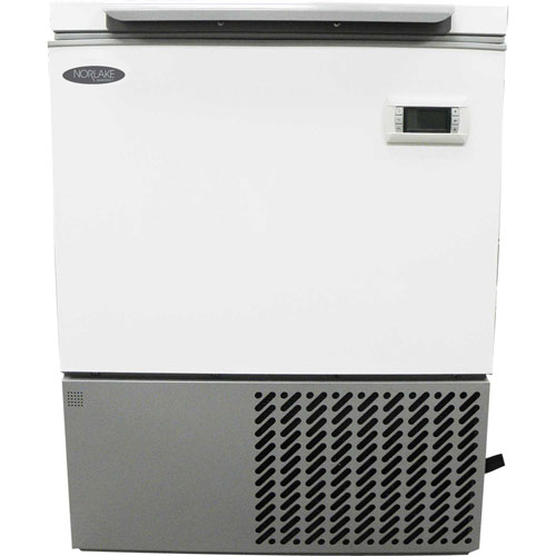 Nor-Lake NSSCF051WWW/5 -86°C Select Ultra-Low Chest Freezer, 4.6 Cu. Ft., 230V by