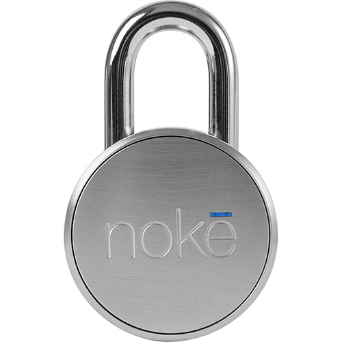 Buy Noke Multipurpose Bluetooth Smart Padlock FNAPS Battery Powered Steel Construction Silver