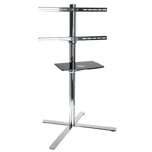 "Click here to buy Mobile TV Cart LCD Monitor Stand w/ DVD Shelf & Wheels, for 32""-60"" TVs."