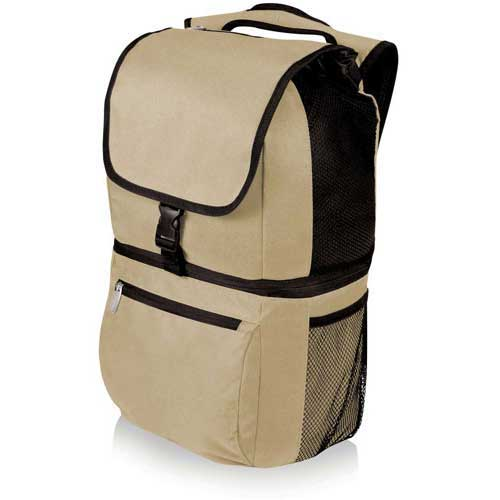 Click here to buy Picnic Time Zuma Insulated Cooler Backpack, Tan.