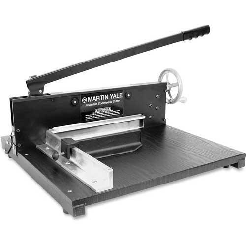"""Premier Commercial Rotary Paper Trimmer 12"""" Length Blade & 200 Sheet Capacity by"""