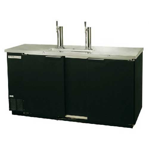 Beverage-Air Commercial Refrigeration Direct Draw Draft Beer Dispenser DD58-1-B by