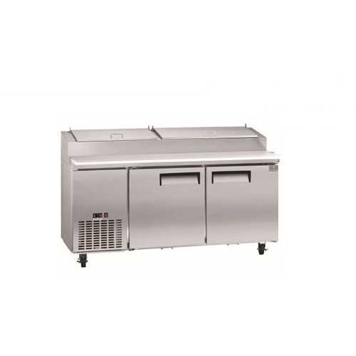 Kelvinator Commercial 16 Cu. Ft. Pizza Prep Table KCPT72.9 by