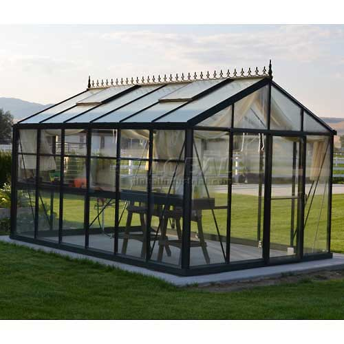 "Royal Victorian VI 34 Greenhouse, 15'L x 10' 2""W x 9'H by Greenhouse Supplies"