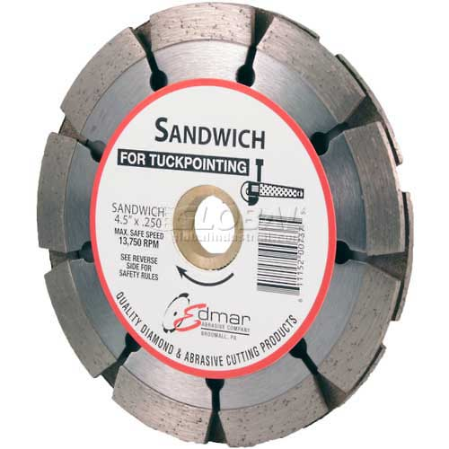"Edmar 4.5"" ""Sandwich"" Tuckpoint Saw Blade by"
