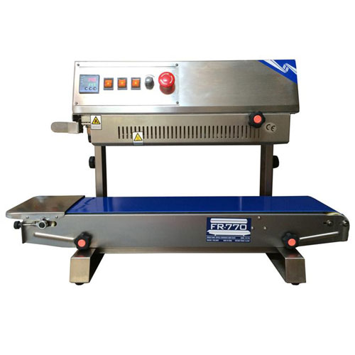 Sealer Sales FR-770II Vertical Stainless Steel Band Sealer by