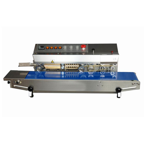 Sealer Sales HL-M810 Horizontal Dry Ink Coding Stainless Steel Band Sealer  by