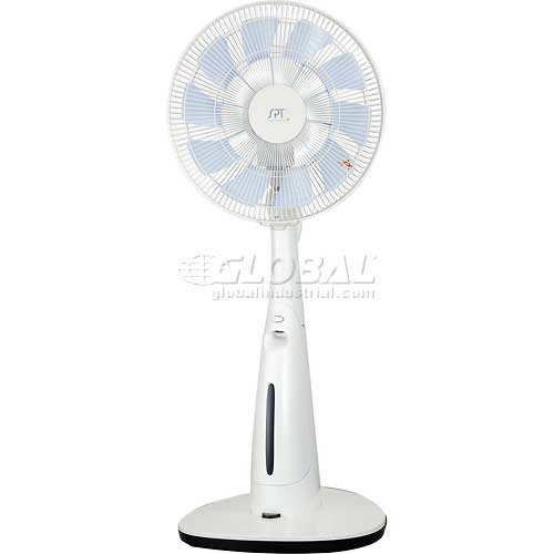 "Sunpentown SPT Indoor 14"" Misting Fan SF-3314MD, DC-Motor, 2475 CFM, 650 RPM by"