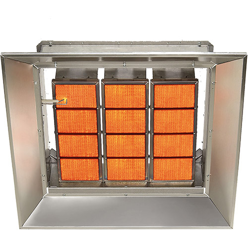 SunStar Natural Gas Heater Infrared Ceramic SG12-N, 120000 BTU by