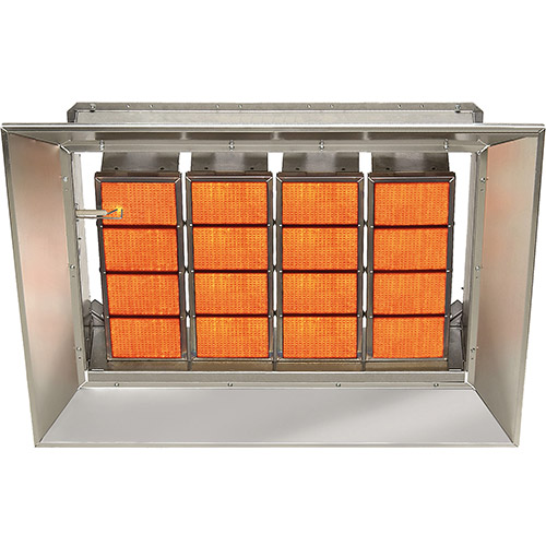 SunStar Natural Gas Heater Infrared Ceramic SG15-N, 155000 BTU by Natural Gas Heaters