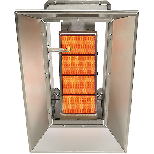 SunStar Natural Gas Heater Infrared Ceramic SG3-N, 30000 Btu  by Natural Gas Heaters