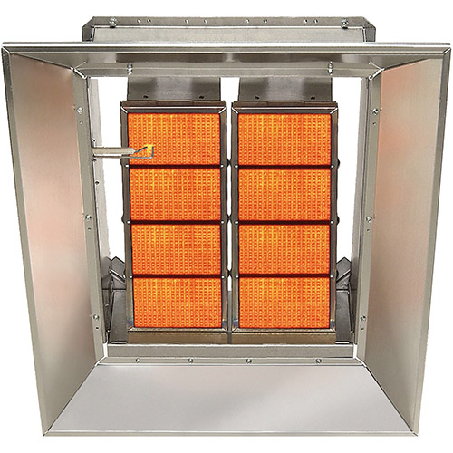 SunStar Natural Gas Heater Infrared Ceramic SG6-N, 60000 Btu  by