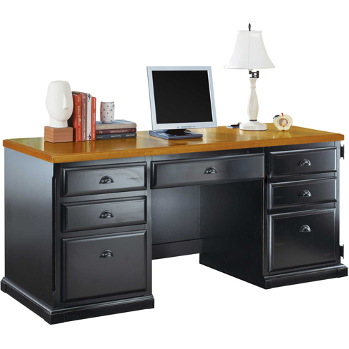 Martin Furniture Computer Credenza Southampton Onyx Office Series by
