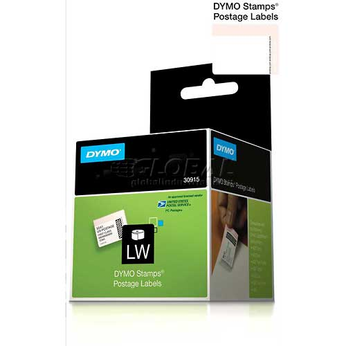"Buy DYMO Stamps Internet Postage Labels 1 5/8"" x 1 1/4"" Black on White"