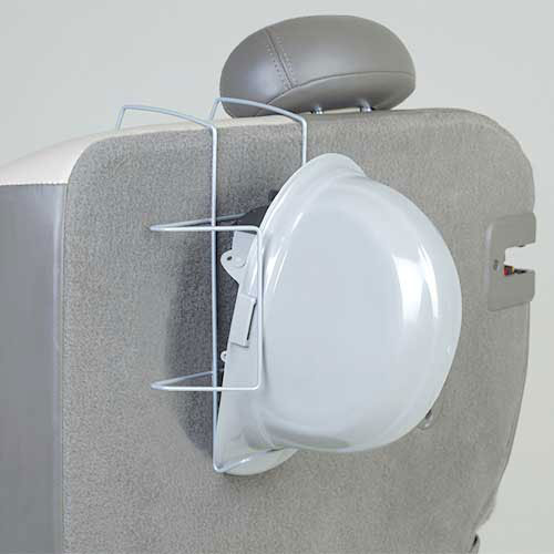 ERB 17960, Hardhat Seat Mount, Silver Package Count 12 by