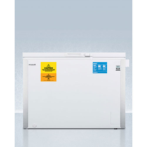Summit VT85IB Laboratory Chest Freezer with Dual Blue Ice Banks, -30° Capable Temp,... by