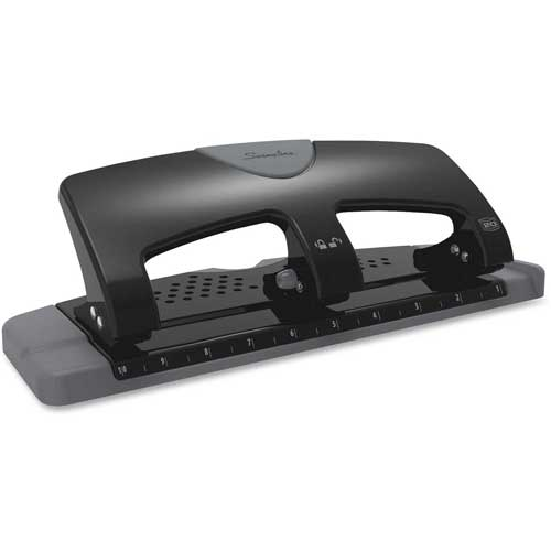 """Swingline 3-Hole Punch 9/32"""" Punch Size with 20 Sheet Capacity by"""