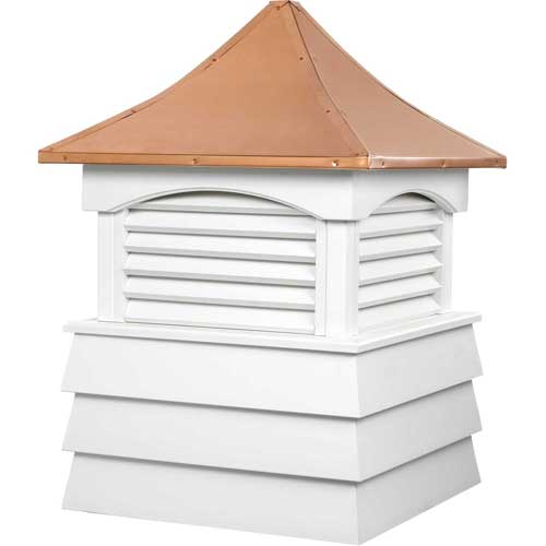 "Click here to buy Good Directions Sherwood Vinyl Cupola 26"" x 37""."
