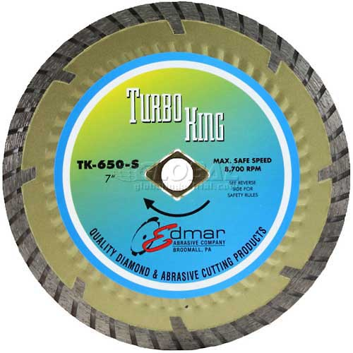 "Edmar 7"" Super Turbo Saw Blade by"