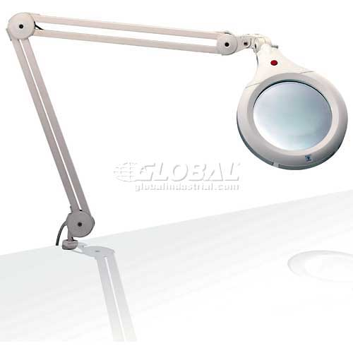 """Daylight 7"""" White Ultra Slim Magnifying Lamp by"""