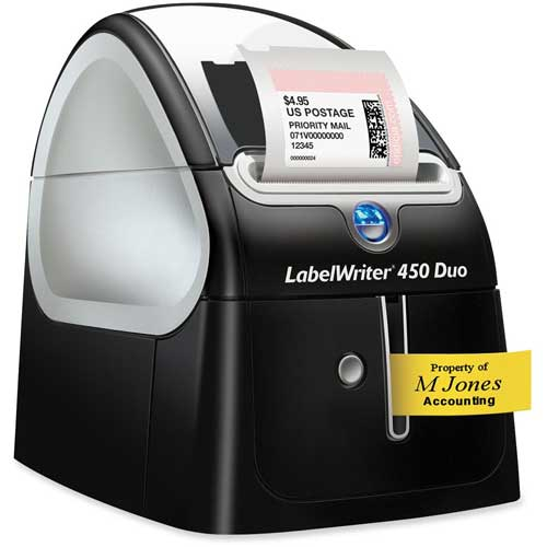 "Buy Dymo LabelWriter 450 Duo, 5-1/2"" X 7-7/8"" X 7-1/4"""