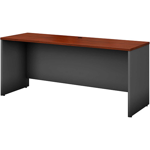 "Bush Furniture Credenza Shell 72""W x 23-3/8""D Hansen Cherry Series C by"