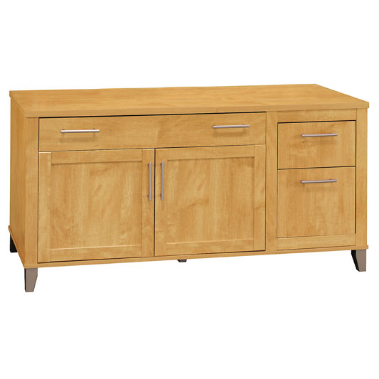 "Bush Furniture Credenza 60"" Maple Cross Somerset Series by"