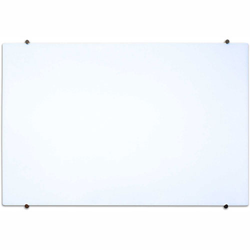 """Buy Luxor Magnetic Glass Whiteboard 60""""W x 40""""H"""