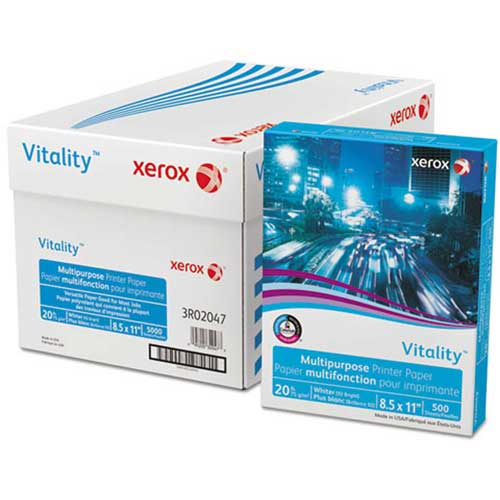 Buy Copy Paper Xerox Business 4200 XER3R02047 White 8-1/2 x 11 20. lb 5000 Sheets/Carton