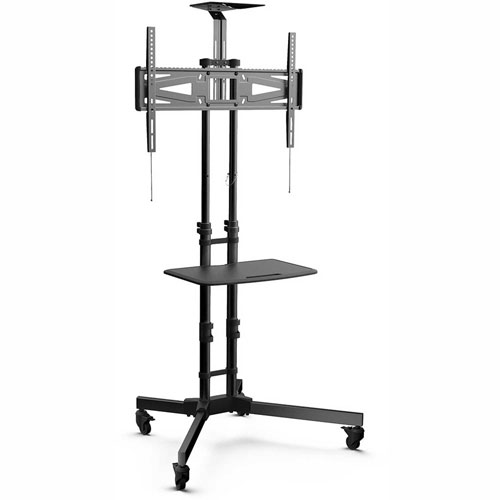 """Click here to buy Loctek Universal Mobile Cart TV Stand for 32""""-65"""" LED/LCD/Plasma Displays."""