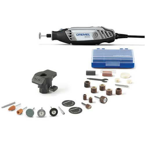Dremel 3000-1/24 3000-Series Variable Speed Rotary Tool Kit w/ 1 Attachment & 24 Accessories by