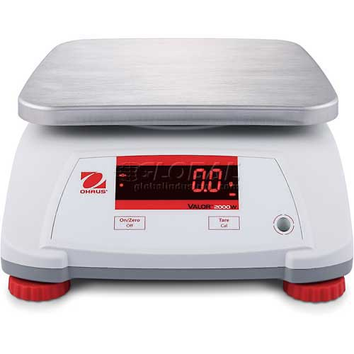 "Ohaus Valor 2000 Compact Bench Digital Scale 6lb x 0.001lb 7-1/2"" x 9-1/2""... by"