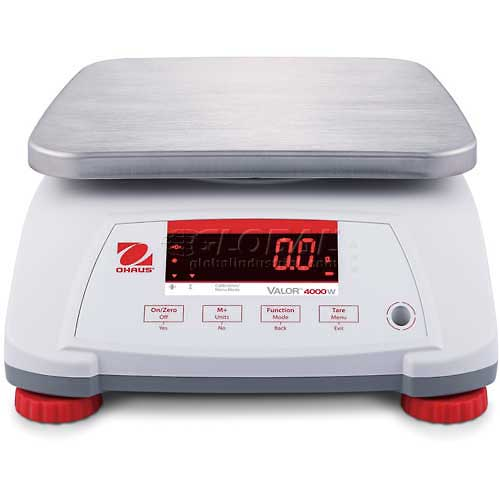 "Ohaus Valor 4000 Water Resistant Digital Scale 30lb x 0.005lb 7-1/2"" x 9-1/2""... by"