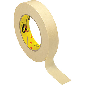 3M High Performance Masking Tape 232 24mm x 55m 6.3 Mil Natural - Pkg Qty 36