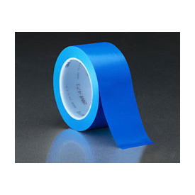 "3m™ Vinyl Tape 471 Blue, 2"" X 36 Yd - Pkg Qty 24"