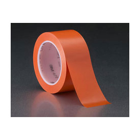 "3m™ Vinyl Tape 471 Orange, 2"" X 36 Yd - Pkg Qty 24"