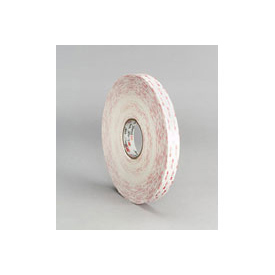 "3m™ Vhb™ Tape 4950 White, 1"" X 36 Yd 45.0 Mil - Pkg Qty 9"