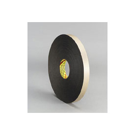3m™ Double Coated Polyethylene Foam Tape 4496 Black - Pkg Qty 9